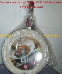 diameter 30 cm lumayan besar cocok untuk masak besar :D