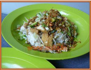 sarapan nasi lengko salah satu menu sehat nan sederhana andalan saya.