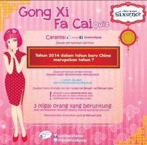 Gong Xi Fa Cai Quiz