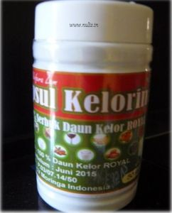 100% daun kelor royal