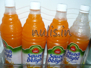sirup orange