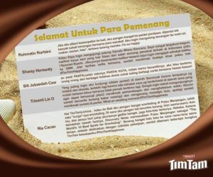 Pemenang Timtam Happiness Contest