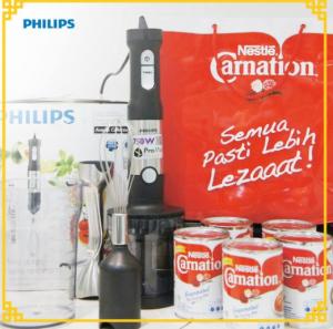 Resep Inovasi Dapur Philips, Berhadiah Produk Philips & Paket Carnation