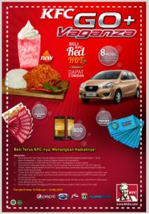 KFC Go Vaganza, Raih Hadiah Utama 8 Mobil Datsun Go!