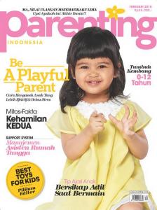 Mau Sikecil Menjadi Model Cover Majalah Parenting?