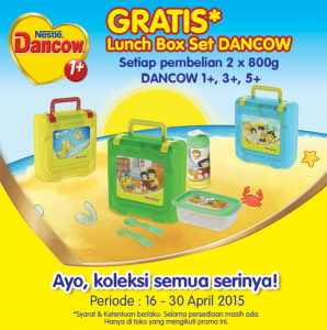 Gratis Lunch Box Set Dancow