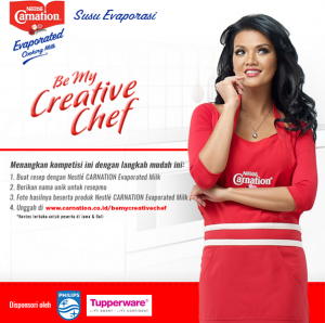 Be My Creative Chef : Berhadiah Produk, Voucher & Private Cooking With Farah Queen
