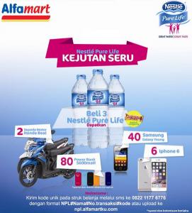 Kejutan Seru Nestle Pure Life Berhadiah Honda Beat