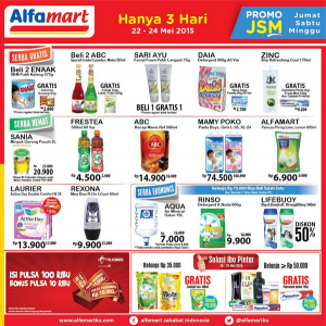 JSM Alfamart 22,23,24 Mei 2015