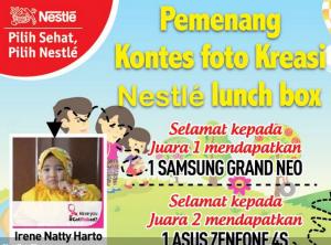 Pemenang Kontes Foto Kreasi Nestle Lunch Box