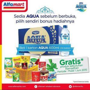 Beli 1 Karton Aqua Pilih Sendiri Hadiahnya