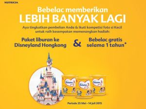 Kontes Foto Bebelac, Berhadiah Paket Wisata Ke Disneyland Hongkong!