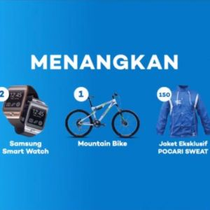 Beli 2 Pocari Sweat Berhadiah Mountain Bike