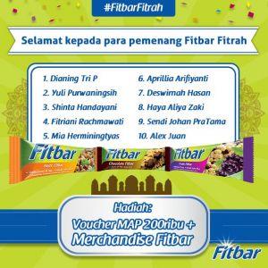 10 Pemenang Fitbar Fitrah