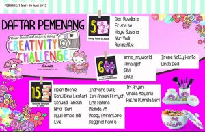 26 Pemenang Flower Shower Hello Kitty Alfamidi