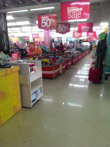 Matahari Dept Store (Tamara Plaza) Purwokerto, Gudangnya Discount Produk Berkualitas