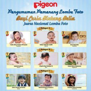 90 Pemenang Hiburan & 9 Pemenang Utama Bayi Ceria Bintang Belia Pigeon
