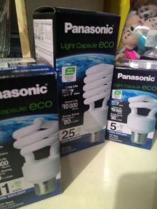 Panasonic Light Capsule Eco - Cool Day Light : Cantik Rupa Cantik Harga