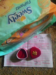 Liontin Hello Kitty : Hadiah Point Sweety - Alfamart