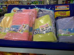 Tebus Handuk Colourfull Ini Hanya Rp.1000
