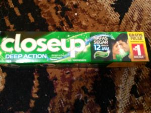 Close-Up Deep Action Berhadiah Total 1 Milyar!