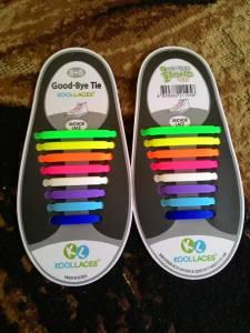 Koolaces Silicone Shoe Laces Rainbow : Ga Ribed Lagi Taliin Sepatu