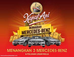 Kapal Api Berhadiah Mercedes-Benz & Puluhan Logam Mulia