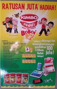 Tabungan Seratus Juta Rupiah Dari Undian Kimbo Reddi Versi Boboi Boy