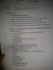 Soal UAS IPS Kelas 2 SD Semester 1 2015/2016