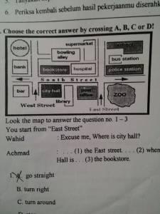Soal UAS Bahasa Inggris Kelas 5 SD Semester 1 2015/2016