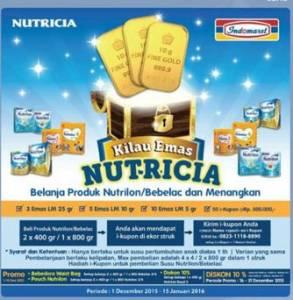 Belanja Produk Nutricia Di Indomaret Berhadiah Logam Mulia