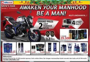 Undian Mens Fair Alfamidi Berhadiah Yamaha MT25