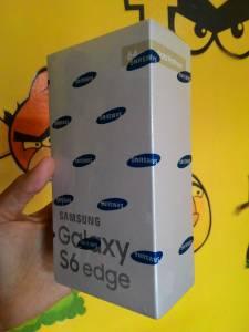 Samsung Galaxy S6 Edge Gold Platinum 64 Gb : Hadiah Aqua Bagaikan Air