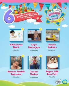 36 Finalis Lomba Foto & Video Cussons Bintang Kecil Session 4