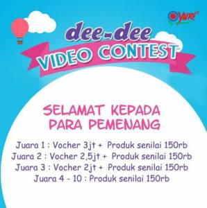 10 Pemenang Dee Dee Video Contest