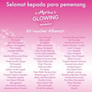 66 Pemenang Marina Glowing Moment