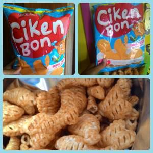 Ciken Bon Jack N Jill : Snack Pedas Berbentuk Paha Ayam