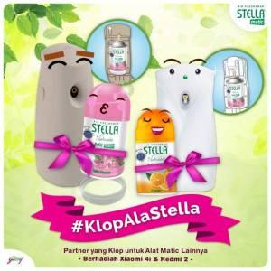 Klop Ala Stella Berhadiah Smartphone