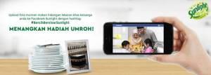 Bersih Bersinar Sunlight Berhadiah Paket Umroh