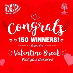 150 Pemenang Kitkat Love Courier 2017