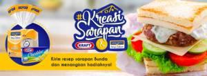 Kreasi Sarapan Kraft Berhadiah Voucher Belanja