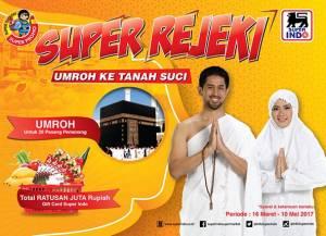 Undian Superindo Berhadiah Umroh