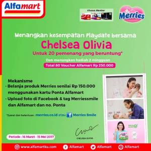 Beli Merries Di Alfamart Menangkan Kesempatan Play Date Bersama Chelsea Olivia