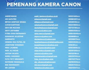 60 Pemenang Iphone & Camera : Moment Gagal Fokus - Aqua