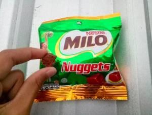 Milo Nuggets : Kecil Manis Mihil