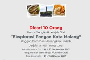 Unggah Foto Makanan Indonesiamu Berhadiah Trip Kekota Malang