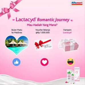 Lactacyd Romantic Journey (Alfamart) Berhadiah TRip Ke Maldives