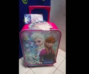 Voucher Sodexo & Tas TRoley Disney FRozen : Hadiah Gambar Idolaku Nyata