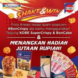 Shake & Win Boncabe Berhadiah Jutaan Rupiah