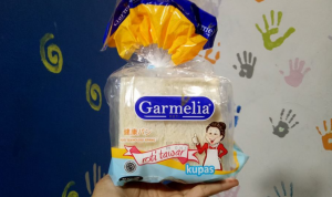 Roti Tawar Kupas Garmelia : Sedikit Lebih Lebar & Tebal